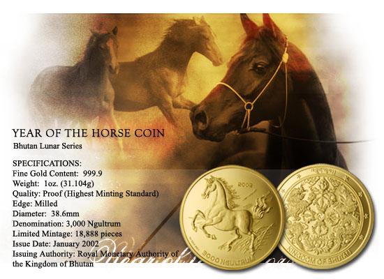 Horse On Coin